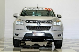 2014 Holden Colorado RG MY15 LS (4x2) Silver 6 Speed Automatic Crew Cab Pickup
