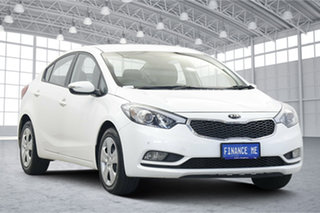 2015 Kia Cerato YD MY15 S Snow White Pearl 6 Speed Sports Automatic Sedan