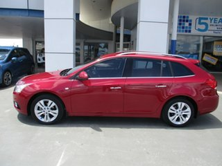 2014 Holden Cruze JH MY14 CDX Red 6 Speed Automatic Sportswagon.