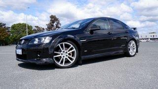 2007 Holden Commodore VE SS V Black 6 Speed Manual Sedan