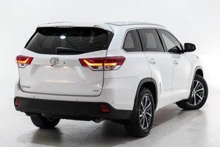 2017 Toyota Kluger GSU55R GXL AWD White 8 Speed Sports Automatic Wagon.