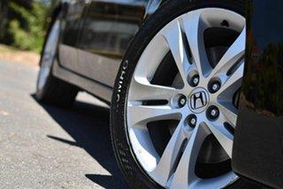 2009 Honda Accord Euro CU Luxury Black 5 Speed Automatic Sedan