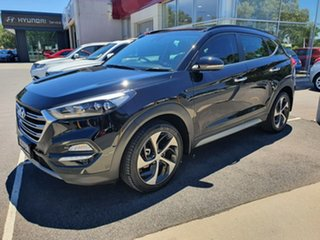 2017 Hyundai Tucson TLe MY17 Highlander D-CT AWD Black 7 Speed Sports Automatic Dual Clutch Wagon.