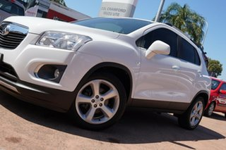 2016 Holden Trax TJ MY16 LTZ White 6 Speed Automatic Wagon.