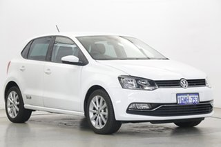 2017 Volkswagen Polo 6R MY17.5 81TSI DSG Urban+ White 7 Speed Sports Automatic Dual Clutch Hatchback