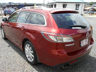 2012 Mazda 6 GH1052 MY12 Touring Red 5 Speed Sports Automatic Wagon
