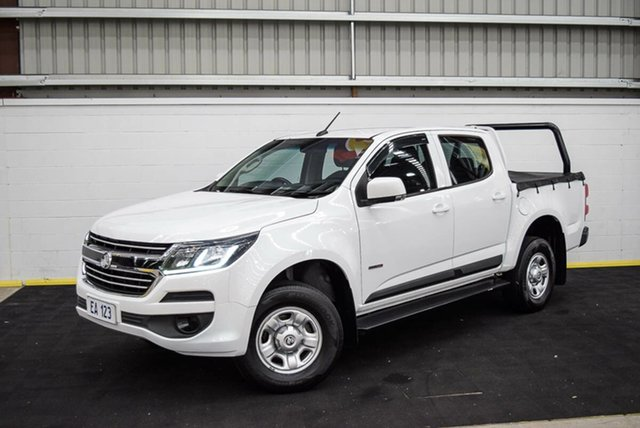 Used Holden Colorado RG MY16 LS Crew Cab 4x2 Canning Vale, 2016 Holden Colorado RG MY16 LS Crew Cab 4x2 White 6 Speed Sports Automatic Utility