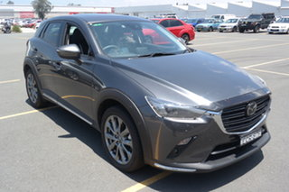 2019 Mazda CX-3 DK2W7A Akari SKYACTIV-Drive FWD LE Machine Grey 6 Speed Sports Automatic Wagon.