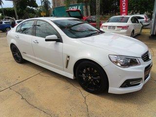 2014 Holden Commodore SSV REDLINE White 6 Speed Manual Sedan.