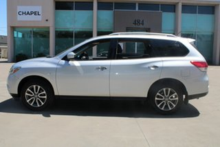 2013 Nissan Pathfinder R52 ST (4x2) Silver Continuous Variable Wagon