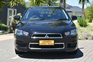 2014 Mitsubishi Lancer CJ MY14.5 LX Black 5 Speed Manual Sedan.