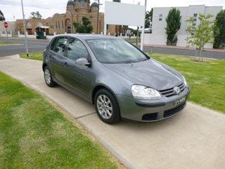 2004 Volkswagen Golf V Comfortline Grey Sports Automatic Hatchback.