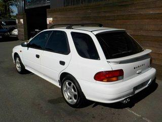1998 Subaru Impreza N MY99 LX AWD White 5 Speed Manual Hatchback