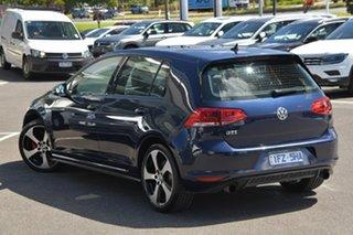 2016 Volkswagen Golf VII MY16 GTI DSG Blue 6 Speed Sports Automatic Dual Clutch Hatchback.