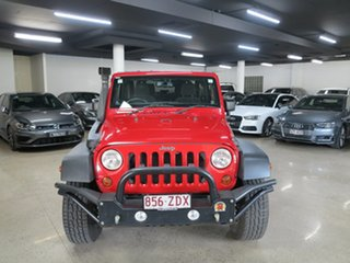 2014 Jeep Wrangler JK MY2014 Rubicon Red 6 Speed Manual Softtop.