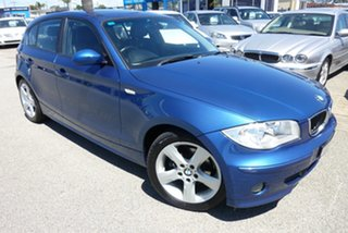 2005 BMW 120i E87 120i Blue 6 Speed Automatic Hatchback.