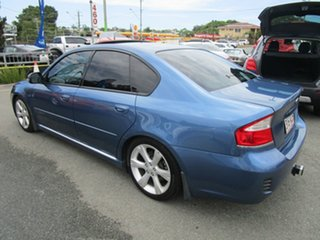 2008 Subaru Liberty B4 MY08 3.0R AWD Premium Blue 5 Speed Sports Automatic Sedan.