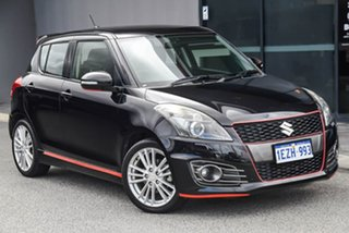 2013 Suzuki Swift FZ Sport Black 7 Speed Constant Variable Hatchback.