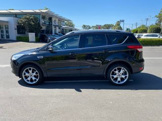 2015 Ford Kuga TF MY15 Titanium PwrShift AWD Black 6 Speed Sports Automatic Dual Clutch Wagon