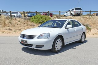 2006 Mitsubishi 380 DB White 5 Speed Sports Automatic Sedan