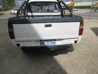 2004 Ford Courier PG GL White 5 Speed Manual Dual Cab
