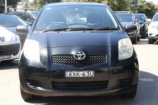 2005 Toyota Yaris NCP90R YR Ink 4 Speed Automatic Hatchback