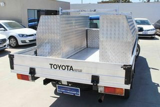 2012 Toyota Hilux TGN16R MY12 Workmate 4x2 Blue 5 Speed Manual Cab Chassis