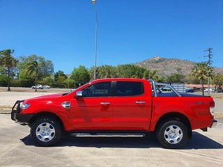 2017 Ford Ranger PX MkII XLT Double Cab Race Red 6 Speed Sports Automatic Utility