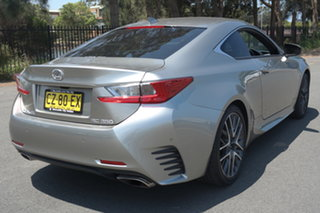 2016 Lexus RC GSC10R RC350 Sports Luxury Silver 8 Speed Sports Automatic Coupe