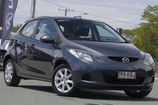 2007 Mazda 2 DE10Y1 Maxx Metropolitan Grey 4 Speed Automatic Hatchback.
