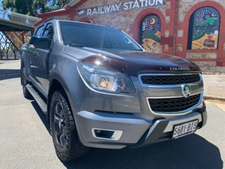 2015 Holden Colorado RG MY16 Z71 Crew Cab Grey 6 Speed Manual Utility.