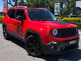 2016 Jeep Renegade BU MY16 Limited DDCT Red 6 Speed Sports Automatic Dual Clutch Hatchback.