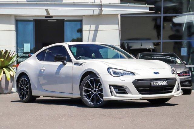 Used Subaru BRZ Z1 MY18 Premium Sutherland, 2018 Subaru BRZ Z1 MY18 Premium White 6 Speed Sports Automatic Coupe