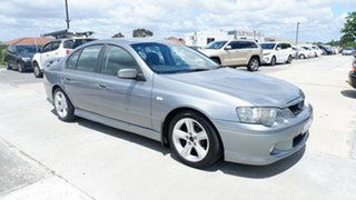 2005 Ford Falcon BA Mk II XR6 Grey 4 Speed Sports Automatic Sedan.