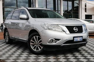 2016 Nissan Pathfinder R52 MY15 ST-L X-tronic 4WD Silver 1 Speed Constant Variable Wagon.