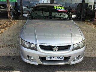 2004 Holden Calais VZ Silver 5 Speed Auto Active Select Sedan.