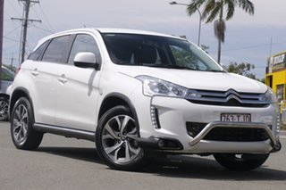 2013 Citroen C4 Aircross Exclusive Pearl White 6 Speed Constant Variable Wagon.