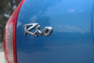 2003 Kia Rio MY03 LS Blue 4 Speed Automatic Hatchback