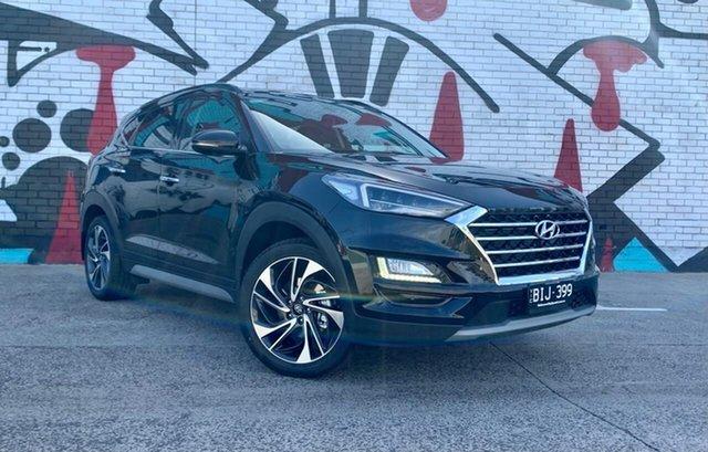 Demo Hyundai Tucson TL3 MY20 Highlander (AWD) Black INT South Melbourne, 2020 Hyundai Tucson TL3 MY20 Highlander (AWD) Black INT Phantom Black 8 Speed Automatic Wagon