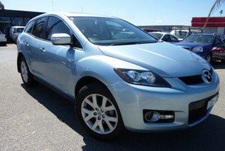 2007 Mazda CX-7 ER1031 MY07 Luxury Aqua Blue 6 Speed Sports Automatic Wagon.
