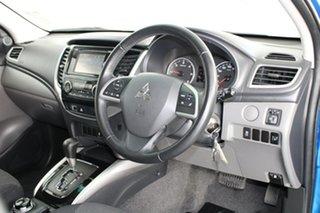 2015 Mitsubishi Triton MQ MY16 GLS Double Cab Impulse Blue 5 Speed Sports Automatic Utility