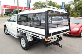 2002 Mitsubishi Triton MK MY02 GLX White 5 Speed Manual Cab Chassis