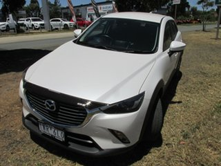 2018 Mazda CX-3 DK2W7A sTouring SKYACTIV-Drive White 6 Speed Sports Automatic Wagon.