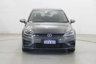 2017 Volkswagen Golf 7.5 MY18 110TSI DSG Highline Indium Grey 7 Speed Sports Automatic Dual Clutch.