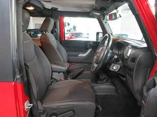 2014 Jeep Wrangler JK MY2014 Rubicon Red 6 Speed Manual Softtop