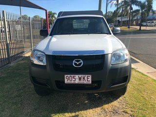 2007 Mazda BT-50 B3000 DX (4x4) White 5 Speed Manual Cab Chassis