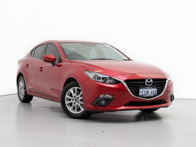 Used Mazda 3 BM Touring, 2015 Mazda 3 BM Touring Red 6 Speed Automatic Sedan