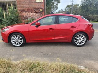 2014 Mazda 3 BM Series SP25 Red Sports Automatic Hatchback.