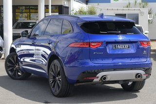 2016 Jaguar F-PACE X761 MY17 First Edition Caesium Blue/ 8 Speed Sports Automatic Wagon.
