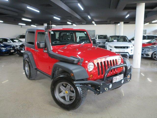 Used Jeep Wrangler JK MY2014 Rubicon Albion, 2014 Jeep Wrangler JK MY2014 Rubicon Red 6 Speed Manual Softtop